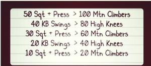 kb workout