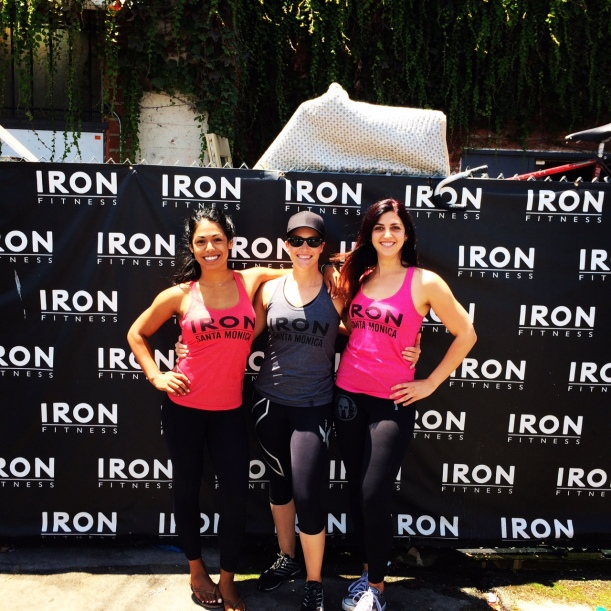 My co-workers at Iron Fitness Santa Monica. :-D