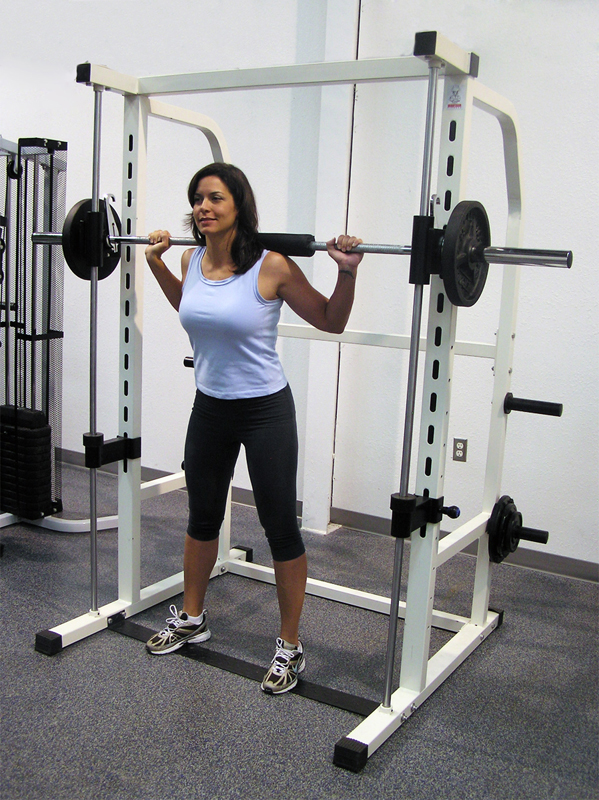 squat on smith machine
