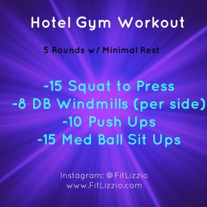 Hotel Gym Workout